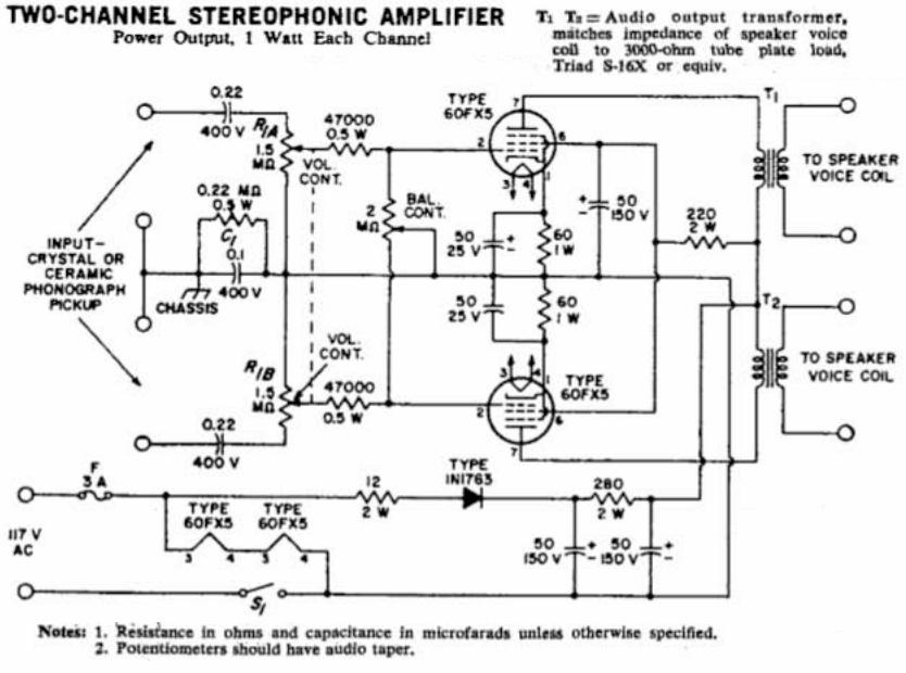 Amazing Neat Little 60Fx5 Stereo Single Ended Tube Amplifier Retrovoltage Wiring Cloud Icalpermsplehendilmohammedshrineorg