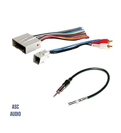 Astounding Amazon Com Asc Audio Car Stereo Wire Harness And Antenna Adapter To Wiring Cloud Loplapiotaidewilluminateatxorg