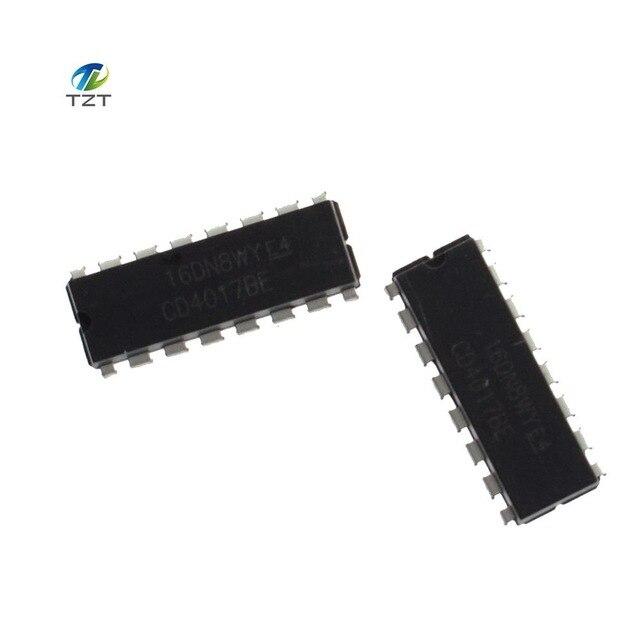 10 x CD4017 CMOS Decade Counter Driver IC 4017 CD4017BE DIP-16 CD4017B
