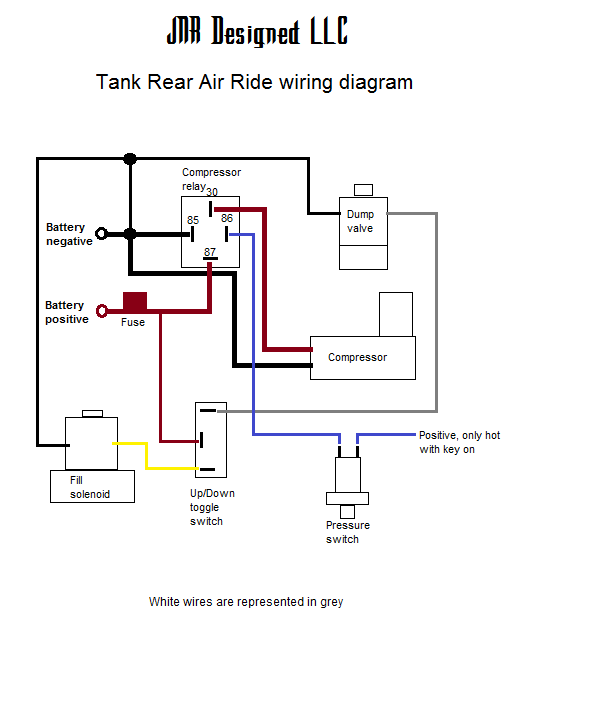 air ride suspension wiring diagram  water well pump 220