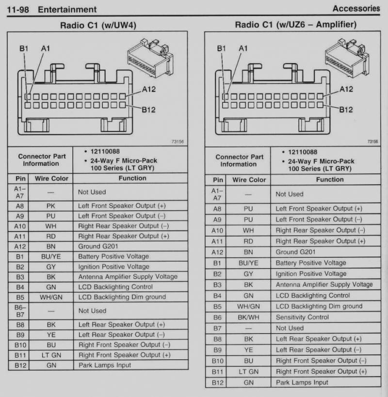 Vn Commodore Radio Wiring Diagram