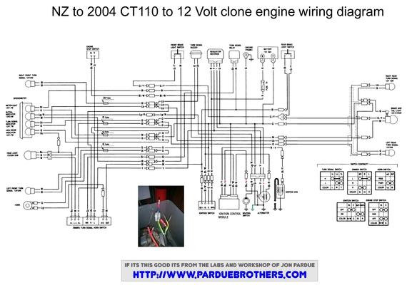 AH_1925] Honda Ct90 Wiring Diagram 1977On All Systems Home Of The PardueSimij Atolo Expe Batt Tron Phan Rimen Phae Mohammedshrine Librar Wiring 101