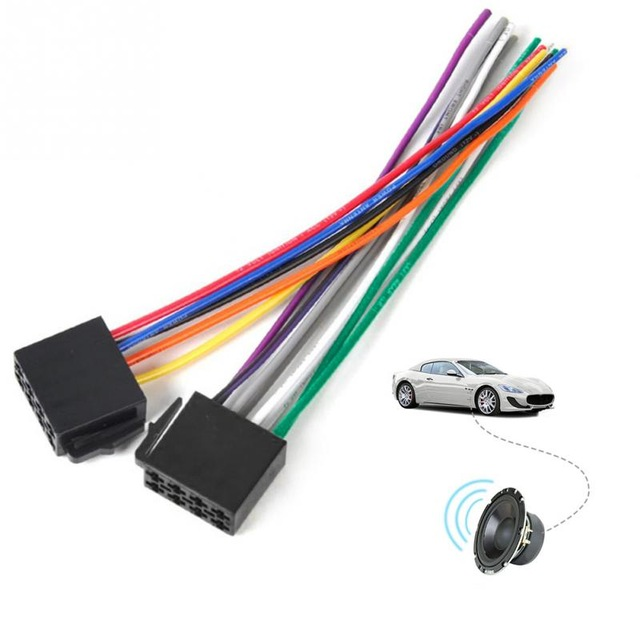 Marvelous Iso Wire Harness Female Adapter Connector Cable Radio Wiring Wiring Cloud Monangrecoveryedborg