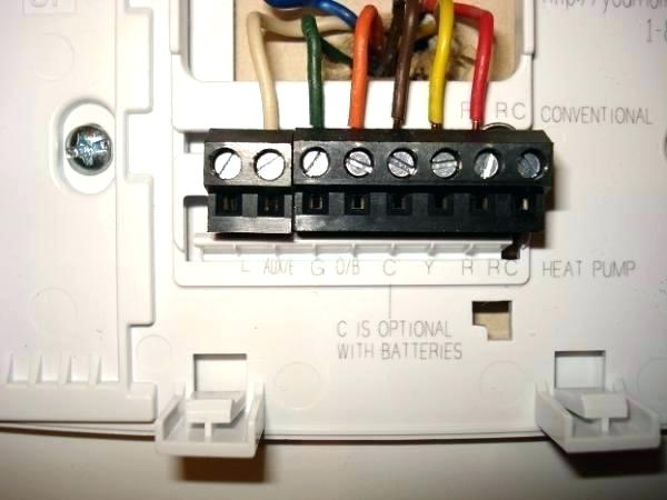 Wiring Diagram For Honeywell Thermostat With Heat Pump