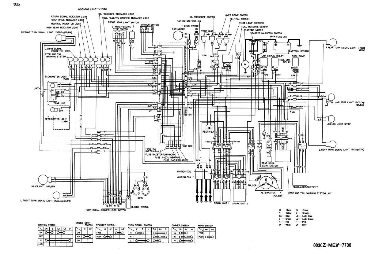 Xe 5839 1986 Goldwing Wiring Diagram Free Diagram