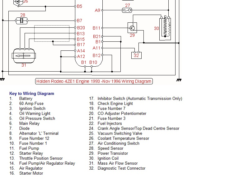 Ve Commodore Engine Wiring Diagram