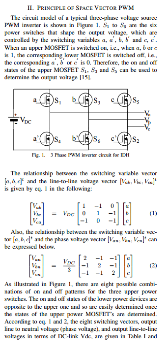 Surprising Solved Ii Principle Of Space Vector Pwm The Circuit Mode Wiring Cloud Grayisramohammedshrineorg
