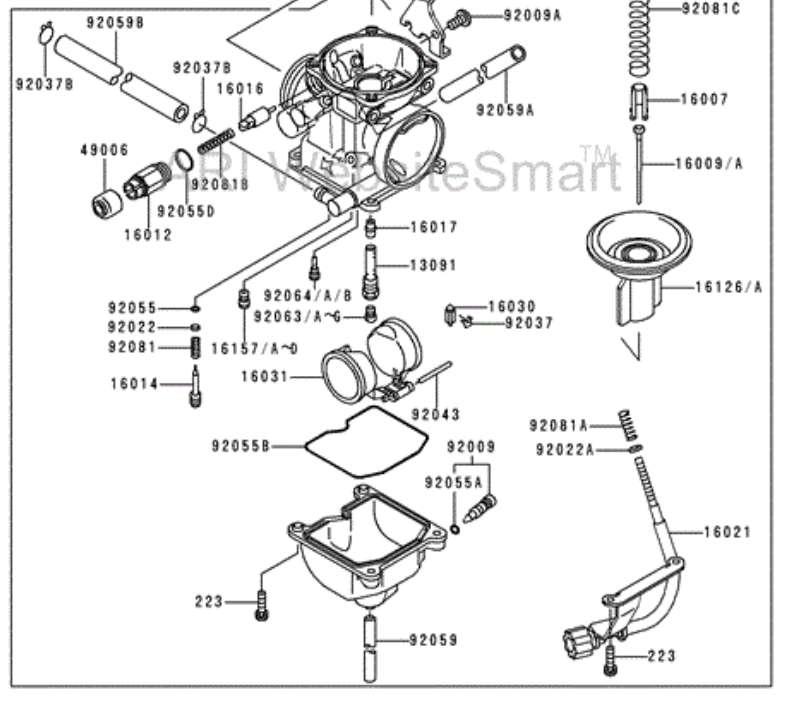 bl0436 bayou 300 carburetor diagram as well kawasaki bayou