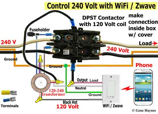 Fx 0668 Wiring A Contactor Box Wiring Diagram