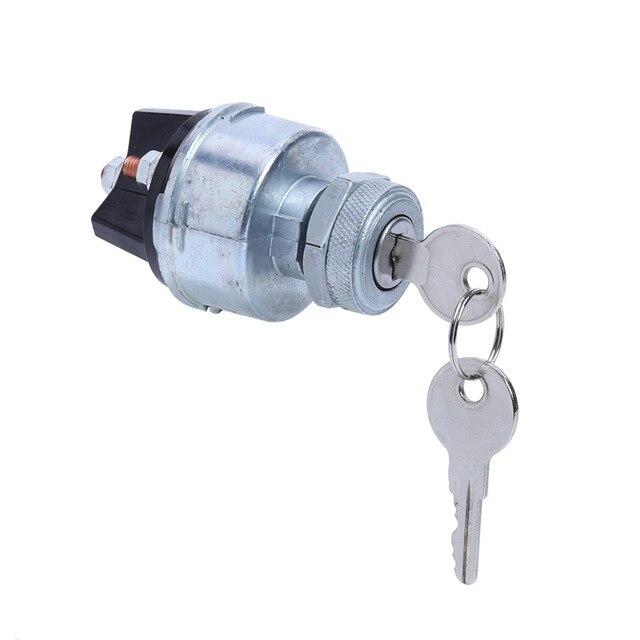 Enjoyable Universal Ignition Starter Switch Barrel With 2 Keys 4 Wiring Point Wiring Cloud Domeilariaidewilluminateatxorg