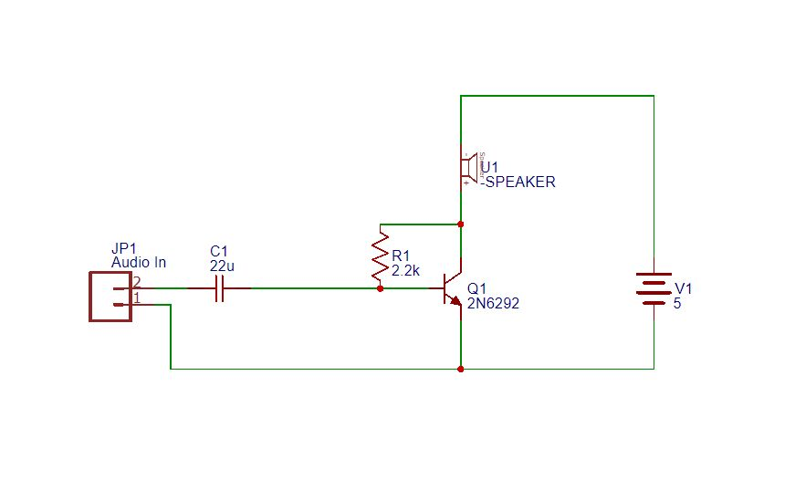 Wondrous Simple Audio Amplifier Using Single Transistor 3 Steps With Pictures Wiring Cloud Filiciilluminateatxorg