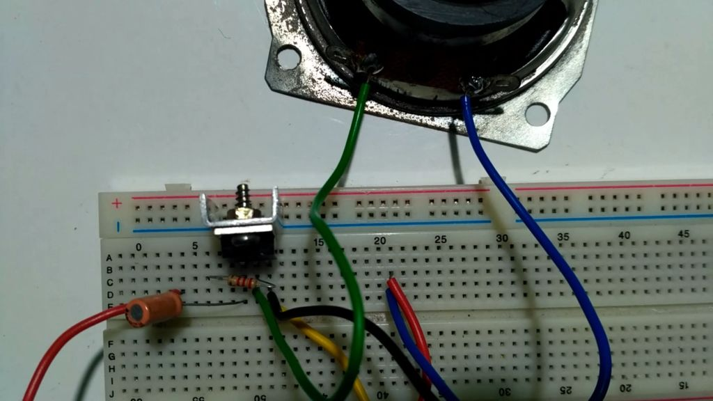 Groovy Simple Audio Amplifier Using Single Transistor 3 Steps With Pictures Wiring Cloud Ittabisraaidewilluminateatxorg