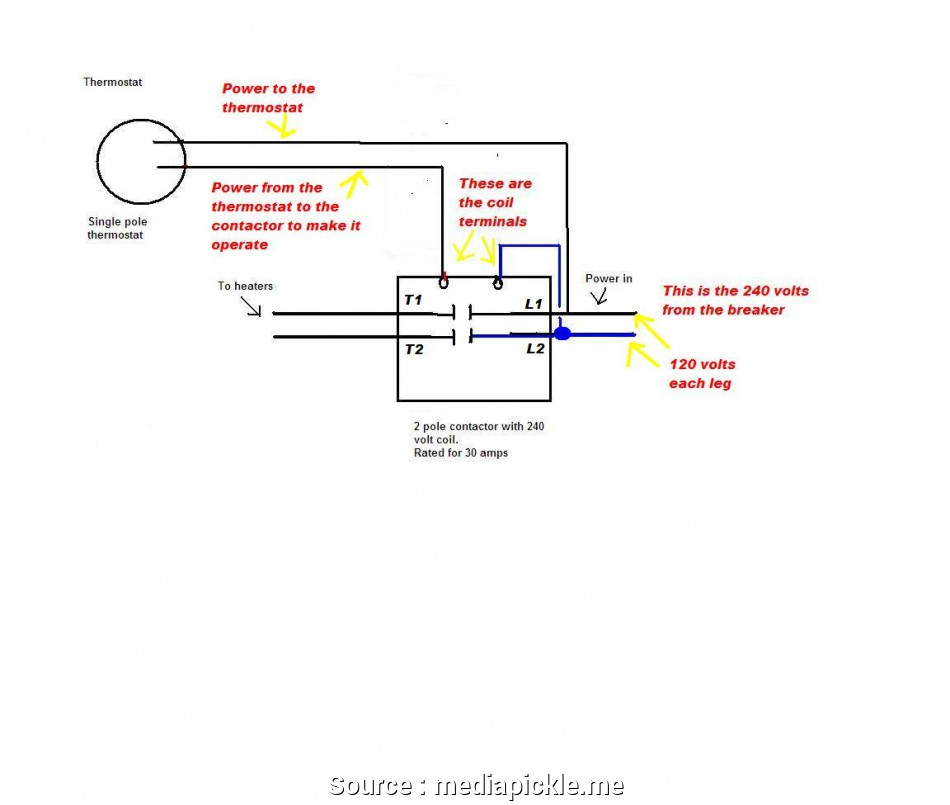 Dr 0144 Single Pole Thermostat Wiring Diagram Single Pole Vs Double Pole Wiring Diagram