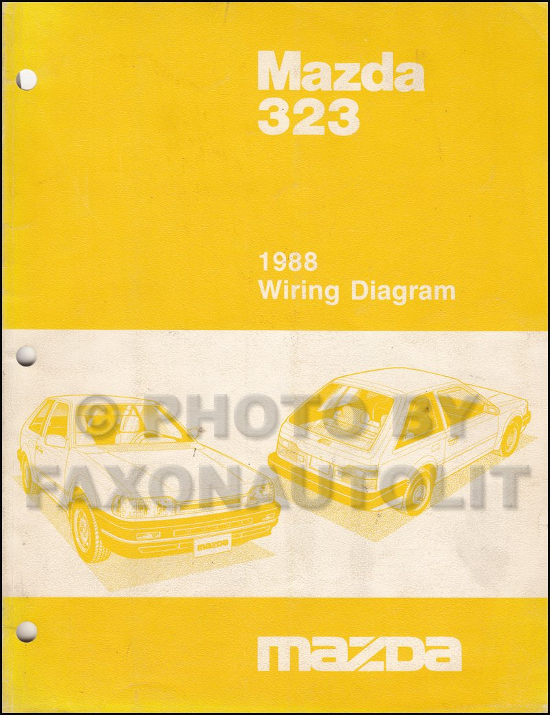 Af 4902 1989 Mazda 323 Wiring Diagram Wiring Diagram
