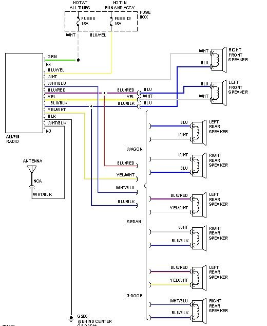Schematic Wiring Diagrams Proton Wira
