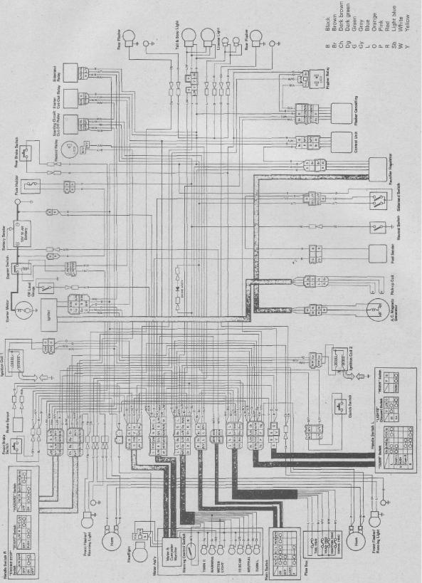 1986 Yamaha Virago 700 Wiring Diagram Xv535 1997 Ford F 250 Fuse Diagram Begeboy Wiring Diagram Source