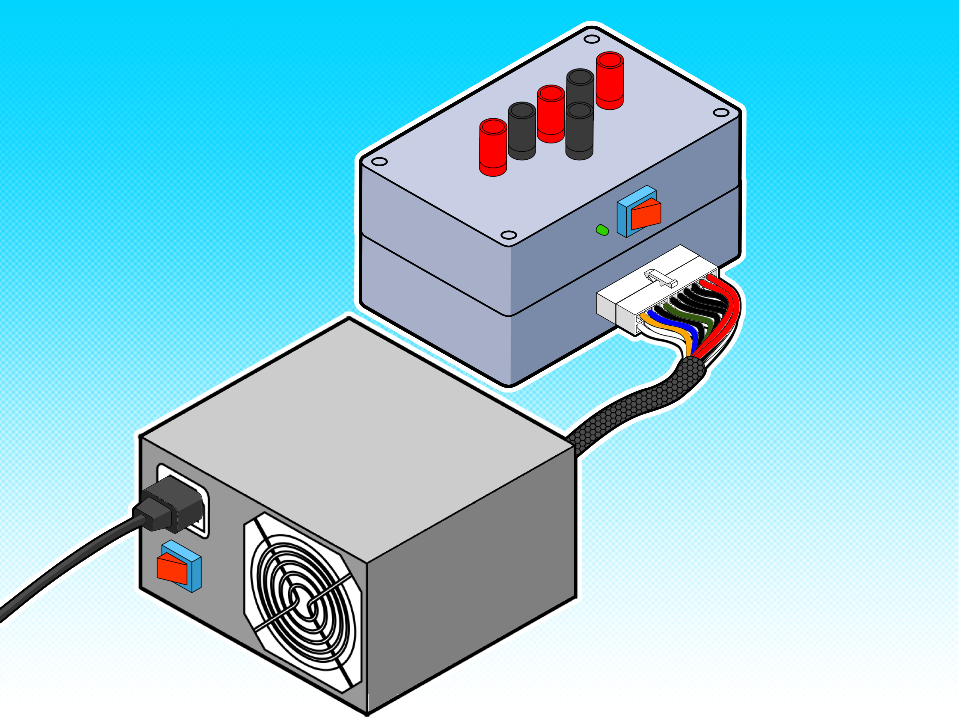 Groovy How To Create A 12 Volt Dc Test Bench For Bullet Cameras Using An Wiring Cloud Uslyletkolfr09Org