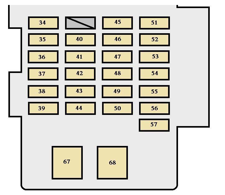 2004 highlander fuse box - 1996 ford van fuse box location for wiring  diagram schematics  wiring diagram schematics