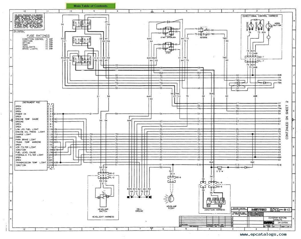 [DIAGRAM_09CH]  Clark Forklift Wiring Schematic - Wiring Diagrams | Forklift Schematic |  | karox.fr