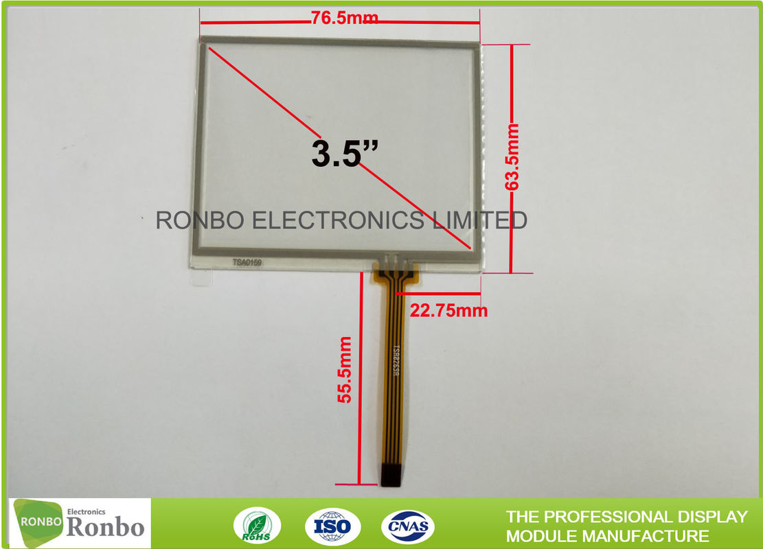 Sensational 4 Wire Touch Screen Control Panel 3 5 Inch Industrial Resistive Wiring Cloud Overrenstrafr09Org