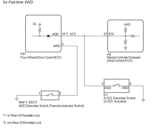 Fw 4649 Toyota 4 Wheel Drive Actuator Switch Free Diagram Manual Guide