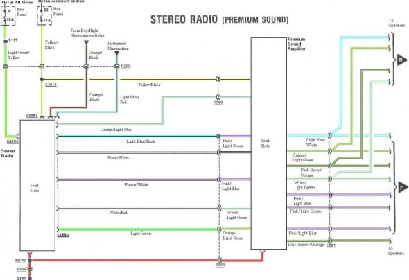 ak1017 ford ranger radio wiring diagram also 1993 ford