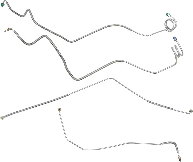 Kr 6112  Brake Line Routing On 2003 Chevy Cavalier Rear