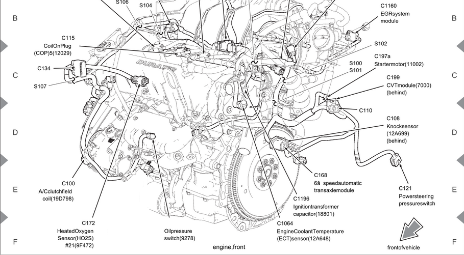2005 ford 500 engine diagram  wiring diagram diodetools