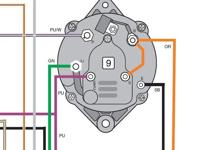 to mercruiser alternator wiring diagram volvo alternator wiring wiring diagram e6  volvo alternator wiring wiring diagram e6
