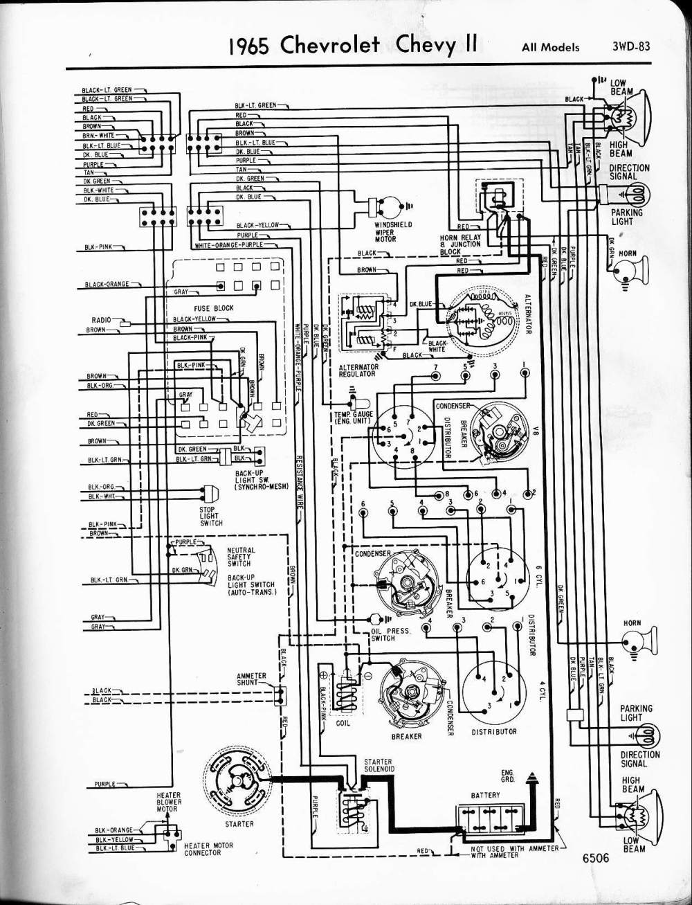 1964 Chevy Impala Ss Wiring Diagram