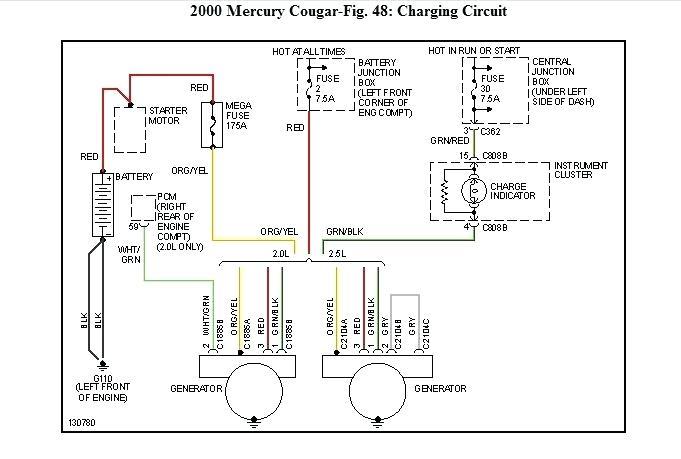 WN_4243] 2000 Mercury Cougar Engine Diagram Schematic WiringOgeno Kapemie Isra Mohammedshrine Librar Wiring 101