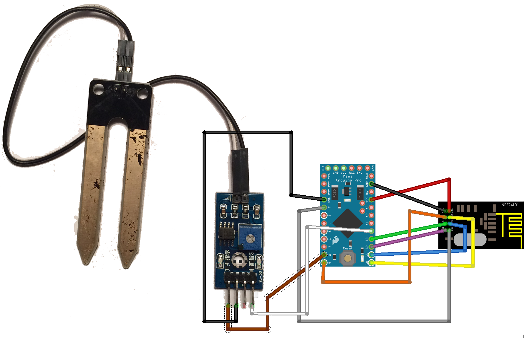 Swell Add A Soil Moisture Sensor To Domoticz Home Improvement Hobby Wiring Cloud Uslyletkolfr09Org