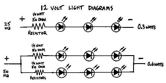 12v led light circuit diagram oh 9961  parallel led circuit  oh 9961  parallel led circuit