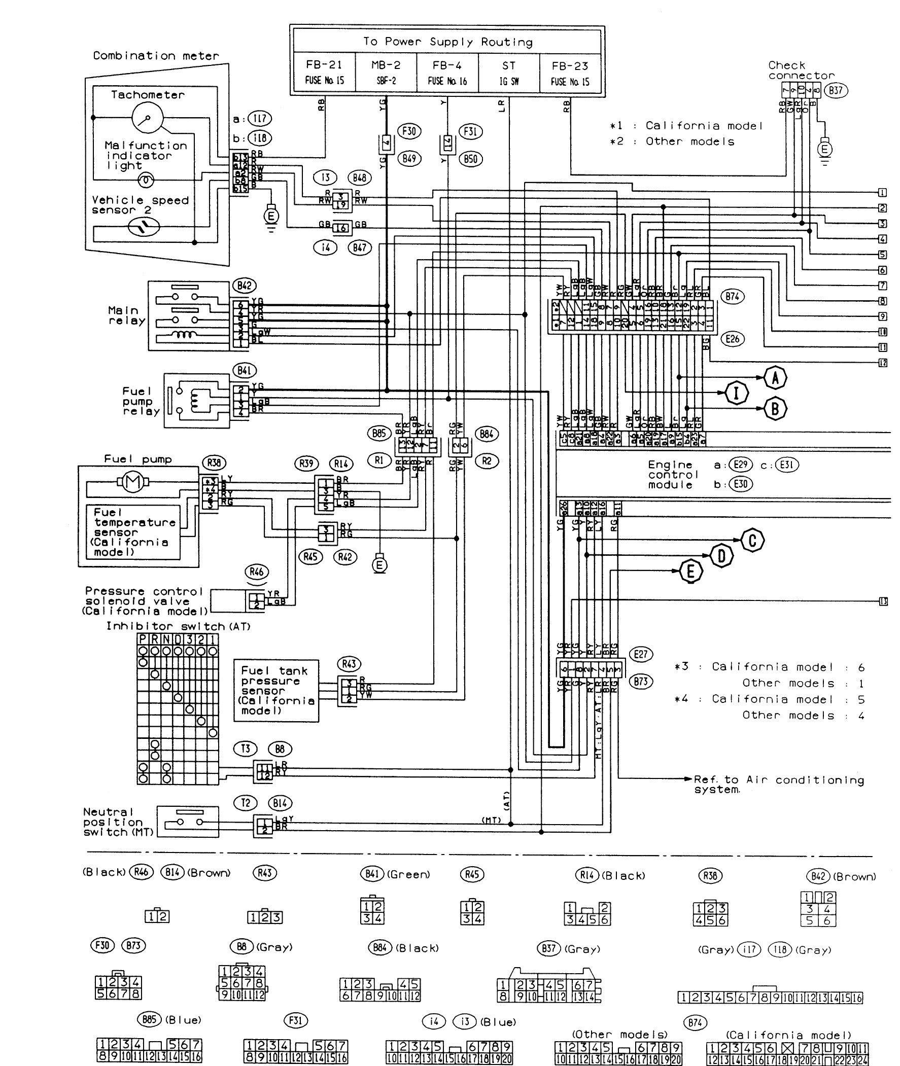 Zd 6915 Subaru Wiring Colour Codes Download Diagram