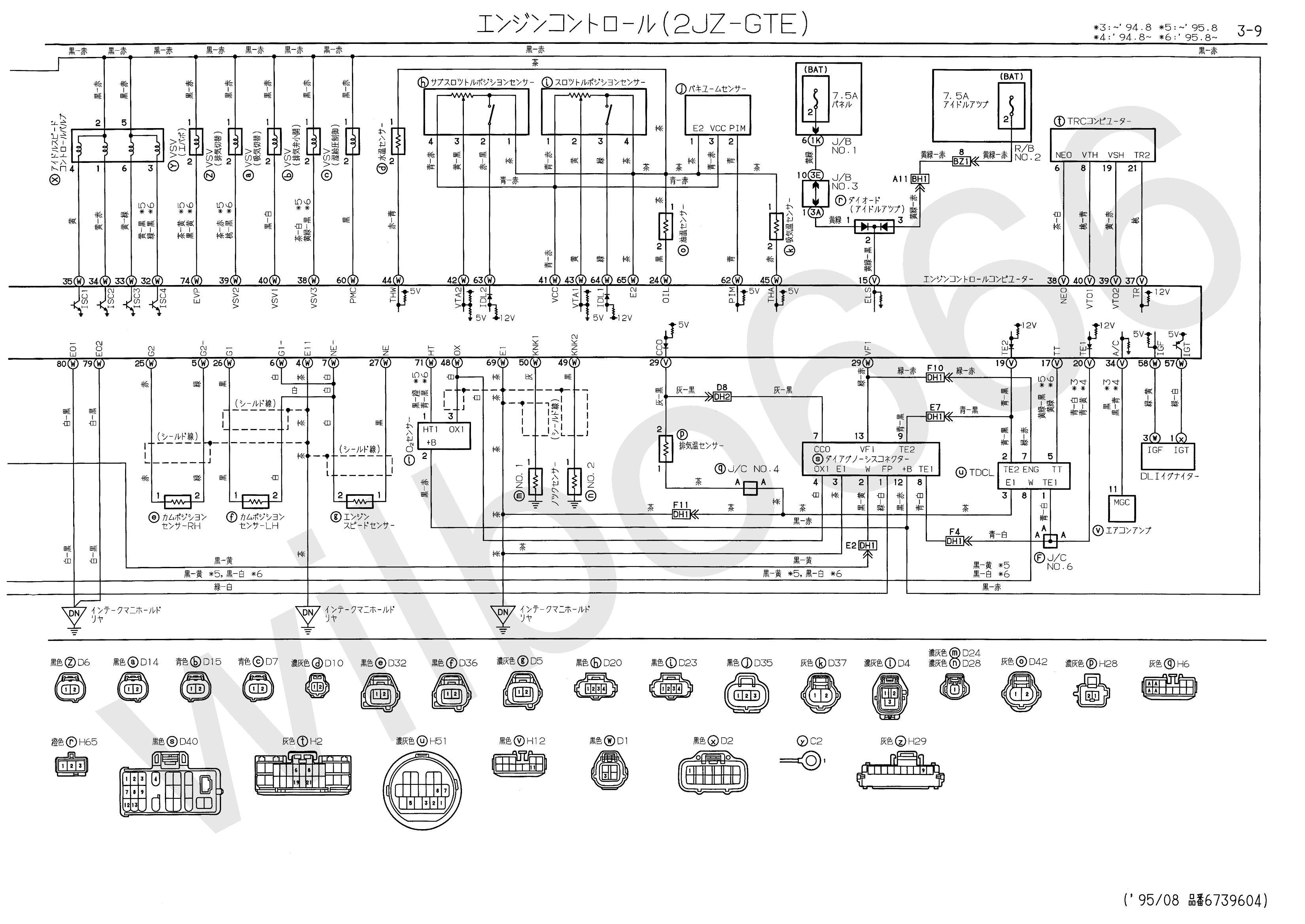 Pleasing Wilbo666 2Jz Gte Jzs147 Aristo Engine Wiring Wiring Cloud Eachirenstrafr09Org