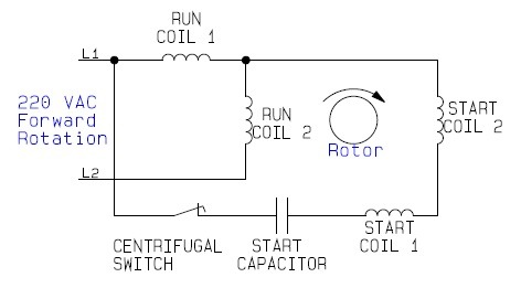 kz5763 forward reverse wiring diagram single phase forward