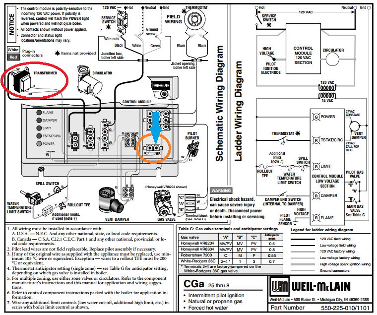 Astonishing How To Connect Thermostat C Wire To Weil Mclain Cga Boiler Home Wiring Cloud Licukshollocom