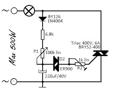 Awesome Triac Circuit Other Circuits Next Gr Wiring Cloud Histehirlexornumapkesianilluminateatxorg
