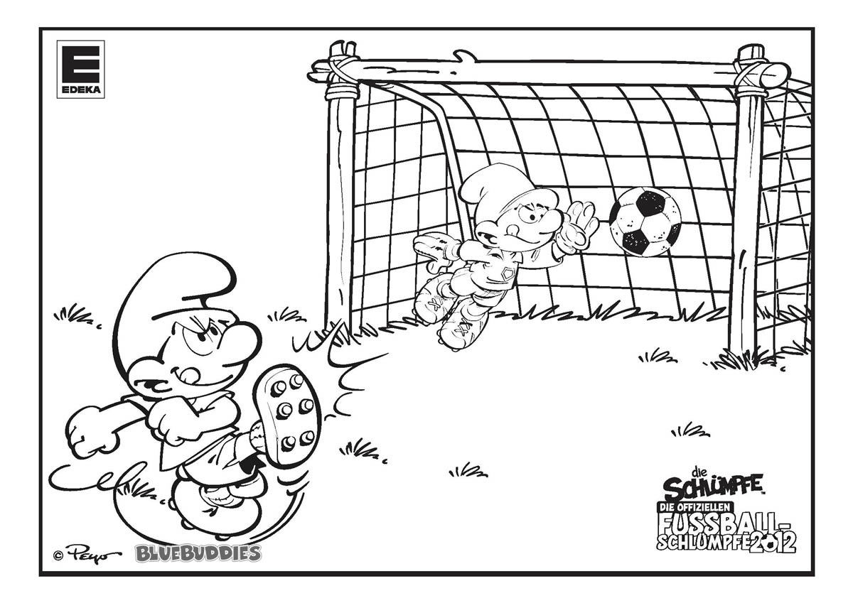 Playing Soccer Game After School Coloring Page - Download & Print ... | 849x1200