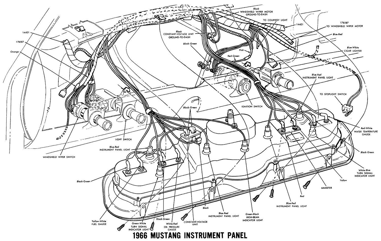 1964 mustang fuse box wiring da 9968  mustang dash instrument panel on 65 66 mustang dash  mustang dash instrument panel on 65 66
