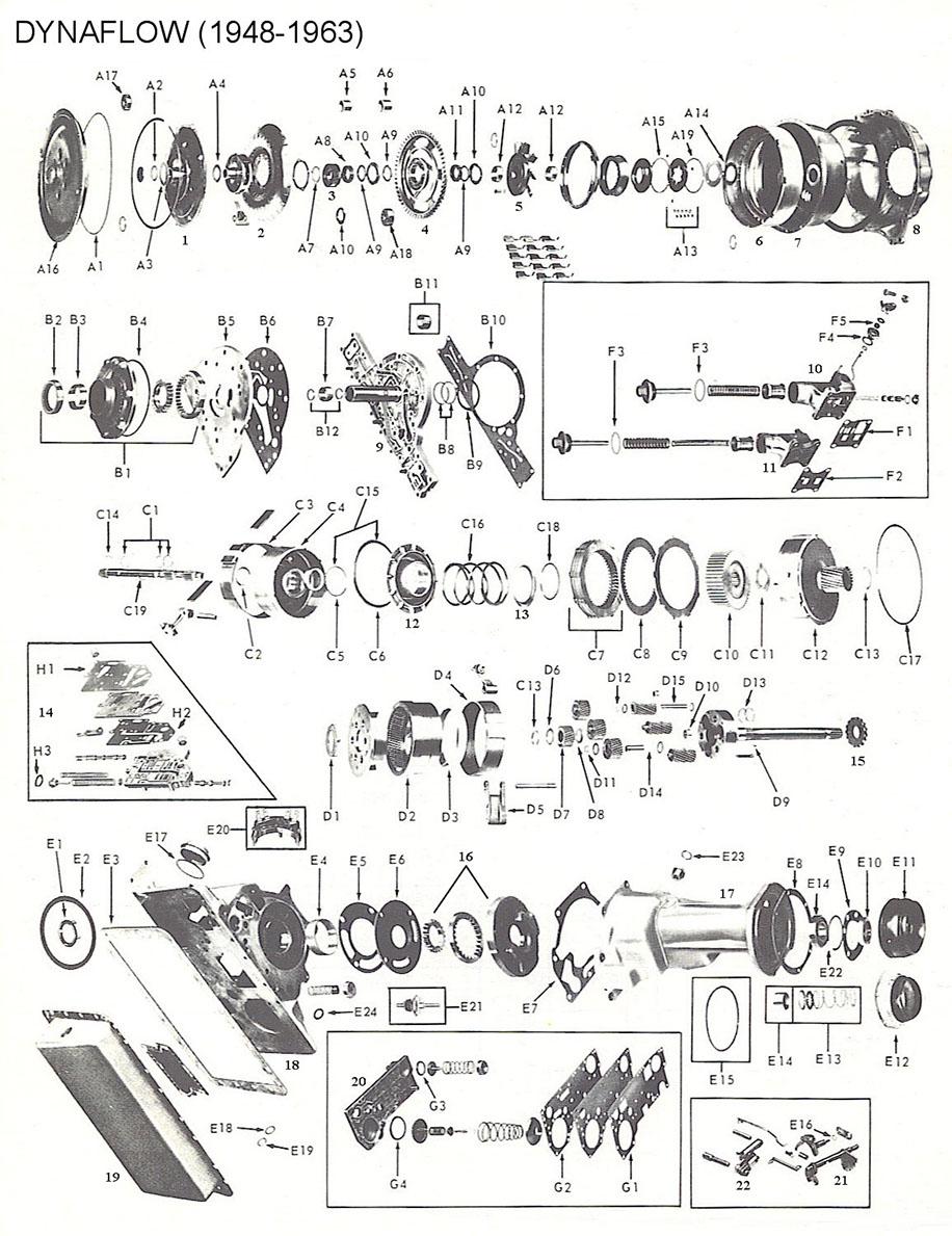 Kt 2752  Ford C6 Transmission Parts Diagram Schematic Wiring