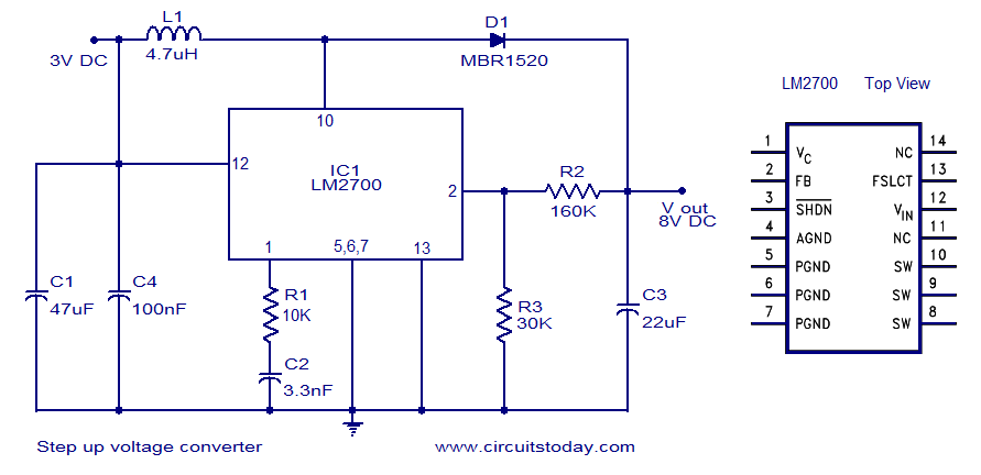Surprising Step Up Voltage Converter Dc To Dc Wiring Cloud Staixaidewilluminateatxorg