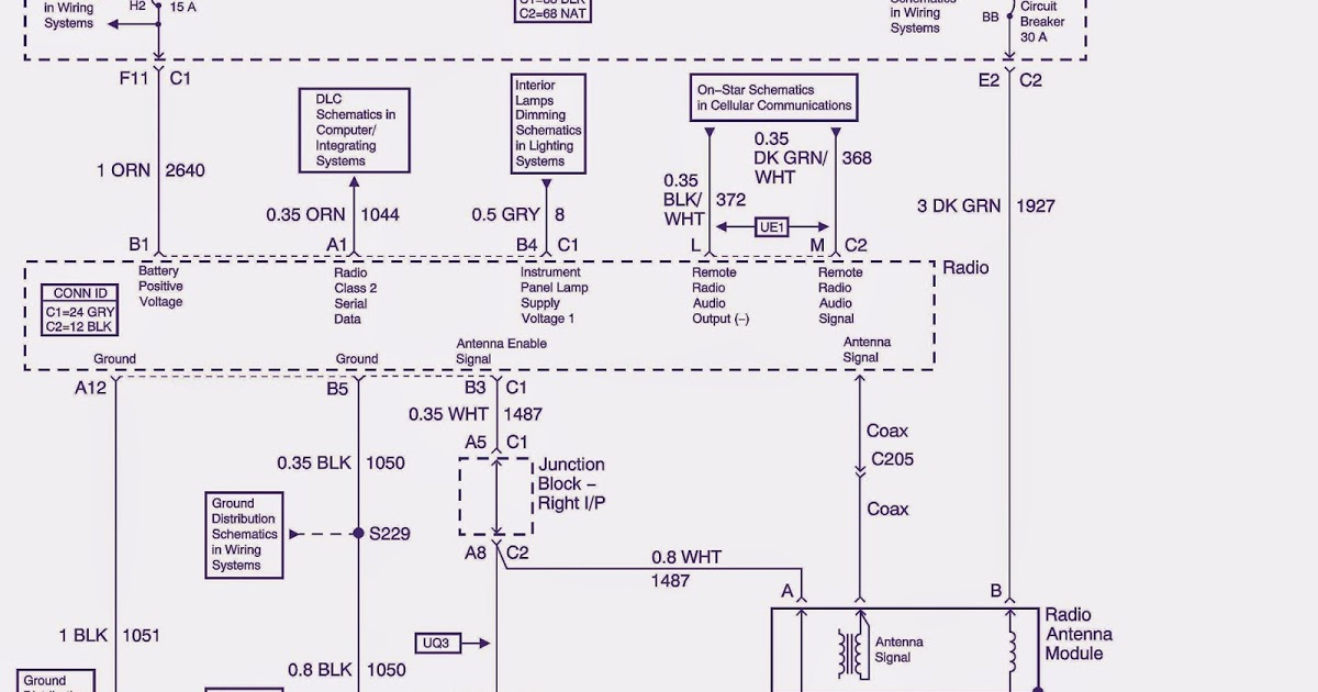 2004 Monte Carlo Stereo Wiring Diagram