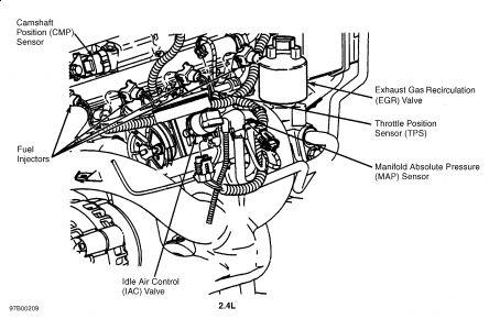 AM_0279] 97 Chevy V6 Engine Diagram Schematic Wiring