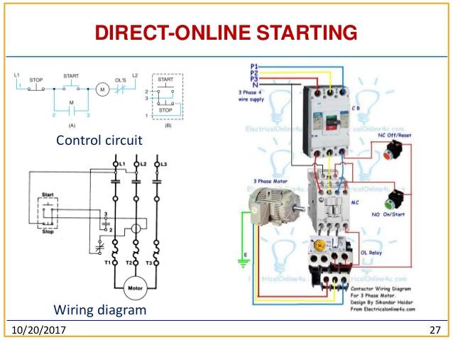3 Phase Contactor Wiring Diagram Start Stop Pdf