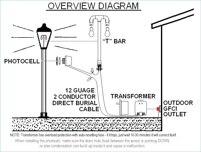photo cell wiring diagram for a light pole with  no cd