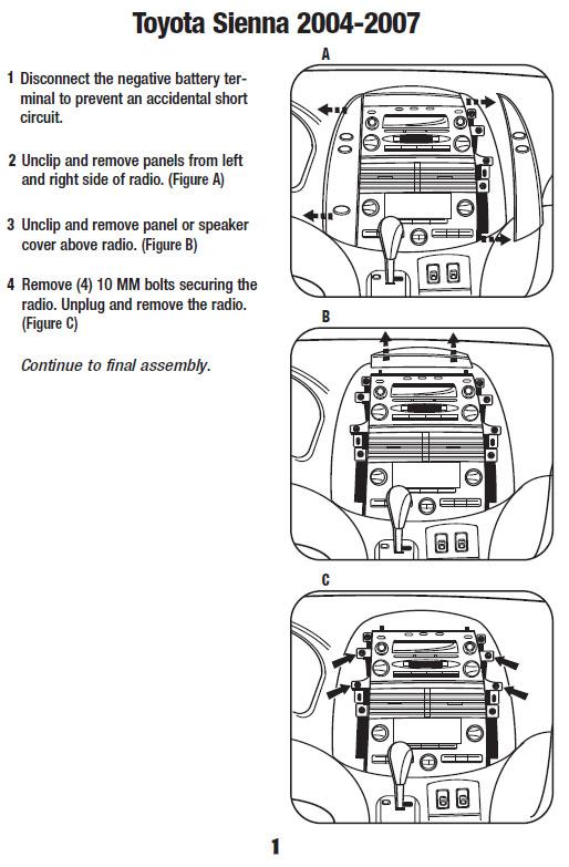 ST_8541] Toyota Sienna Wiring Diagram Further 2004 Toyota Sienna Wiring  Diagram Wiring DiagramPhil Benkeme Mohammedshrine Librar Wiring 101