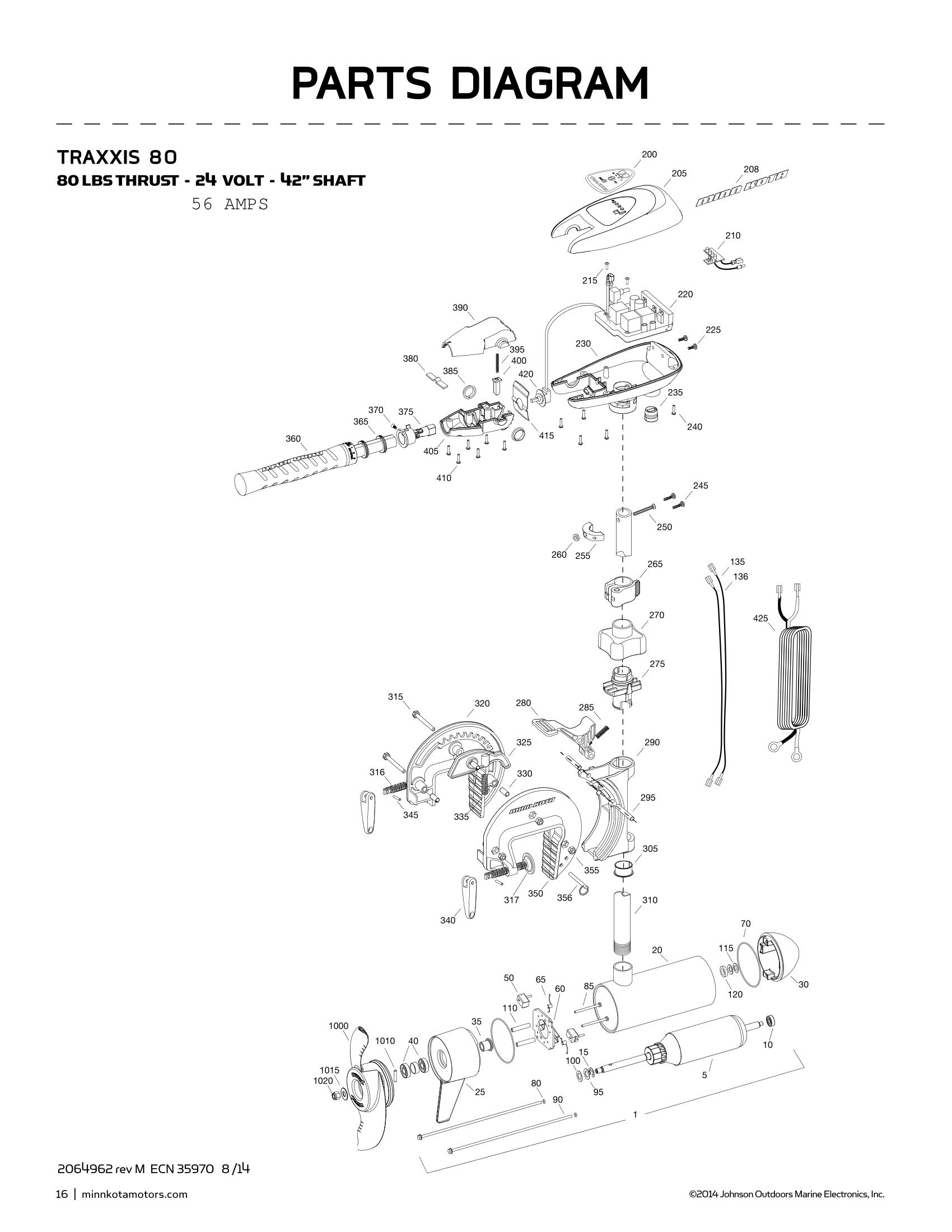 Minn Kota 55tx Wiring Diagram
