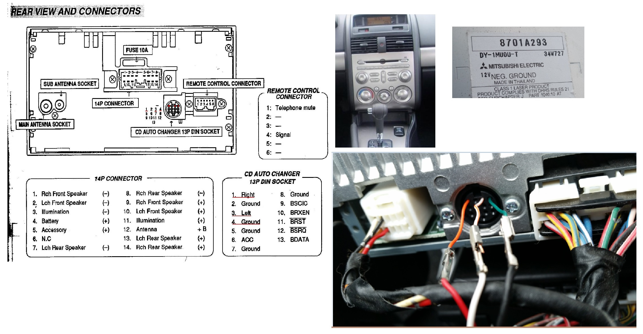 01 galant stereo wiring harness diagram 2004 mitsubishi endeavor radio wiring e1 wiring diagram  2004 mitsubishi endeavor radio wiring