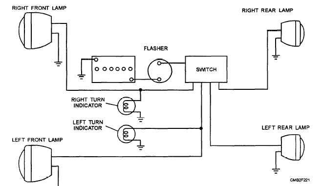 motorcycle turn signal switch wiring diagram hz 8486  turn signal switch wiring diagram collection universal  turn signal switch wiring diagram